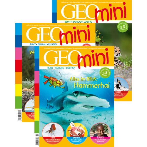 GEOlino mini Themenpakete