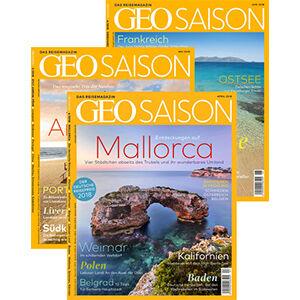 GEO SAISON Themenpakete