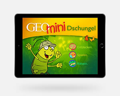GEOmini-App Dschungel