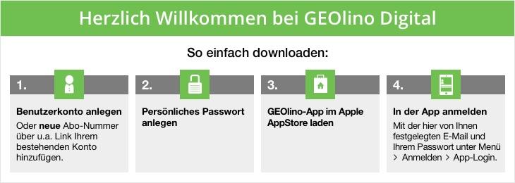 GEOlino App Download-Anleitung